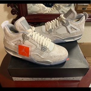 Air Jordan Retro 4 Laser Deadstock sz 11